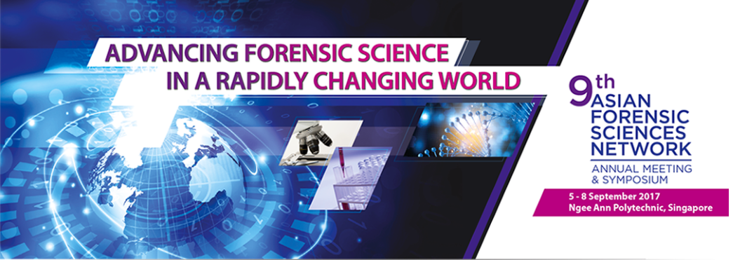 9th Asian Forensic Sciences Meeting banner