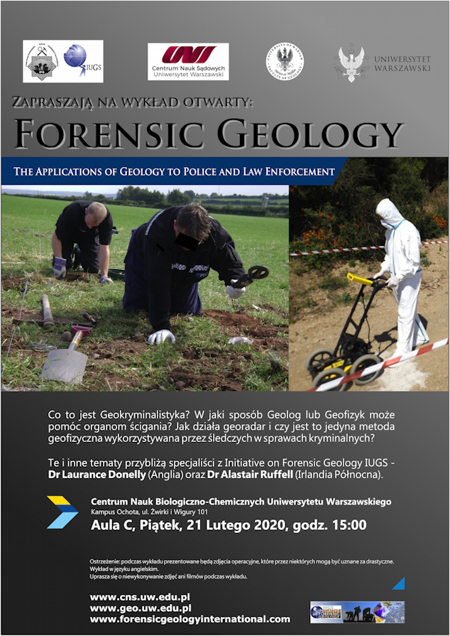 Iugs Initiative On Forensic Geology News